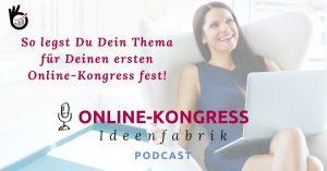 Thema für Deinen ersten Online-Kongress Beitragsbild
