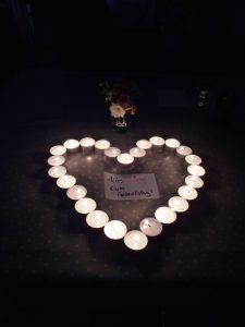 LEAD-MAGNET Herz aus Kerzen