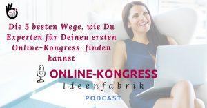 Online-Kongress Experten finden Beistragsbild