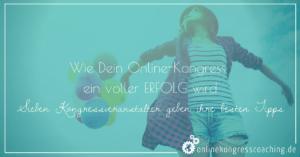 Beitragsbild Dein Online-Kongress ein voller Erfolg