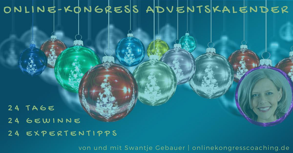 Beitragsbild Online-Kongress Adventskalender