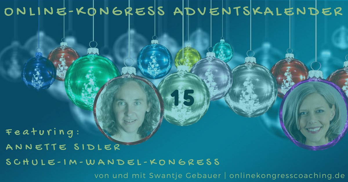 Beitragsbild Online-Kongress Annette Sidler