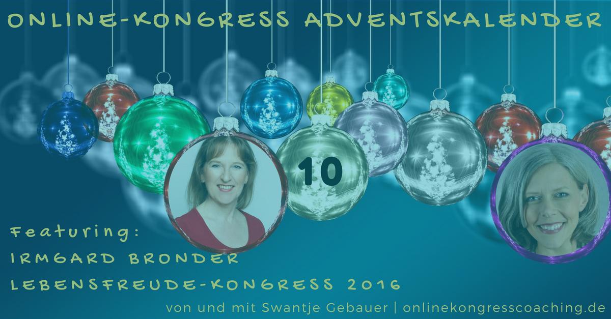 Beitragsbild Online-Kongress Irmgard Bronder