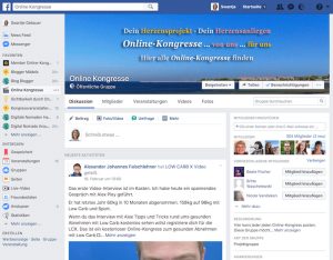 Kongress-Marketing Online-Kongresse-Gruppe