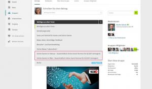 Kongress-Marketing Xing-Online-Event-Gruppe