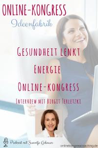 Gesundheit lenkt Energie Online-Kongress Birgit Terletzki Beitragsbild