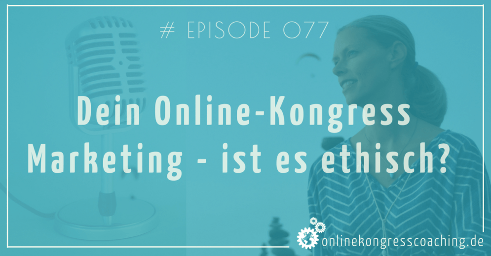 Online-Kongress Marketing - ist es ethisch? Beitragsbild